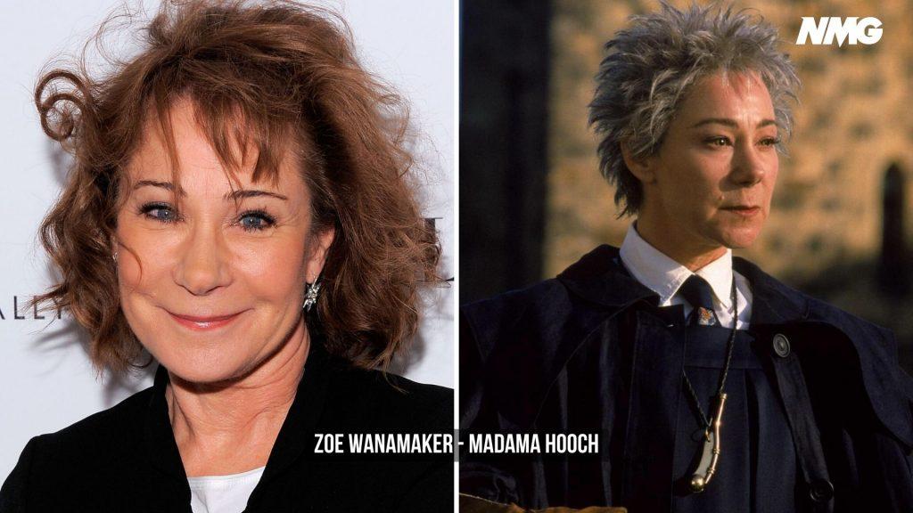 Zoe Wanamaker in Harry Potter - Neomag.