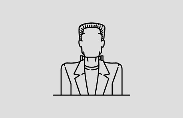 Frankenstein Disegno - Neomag.