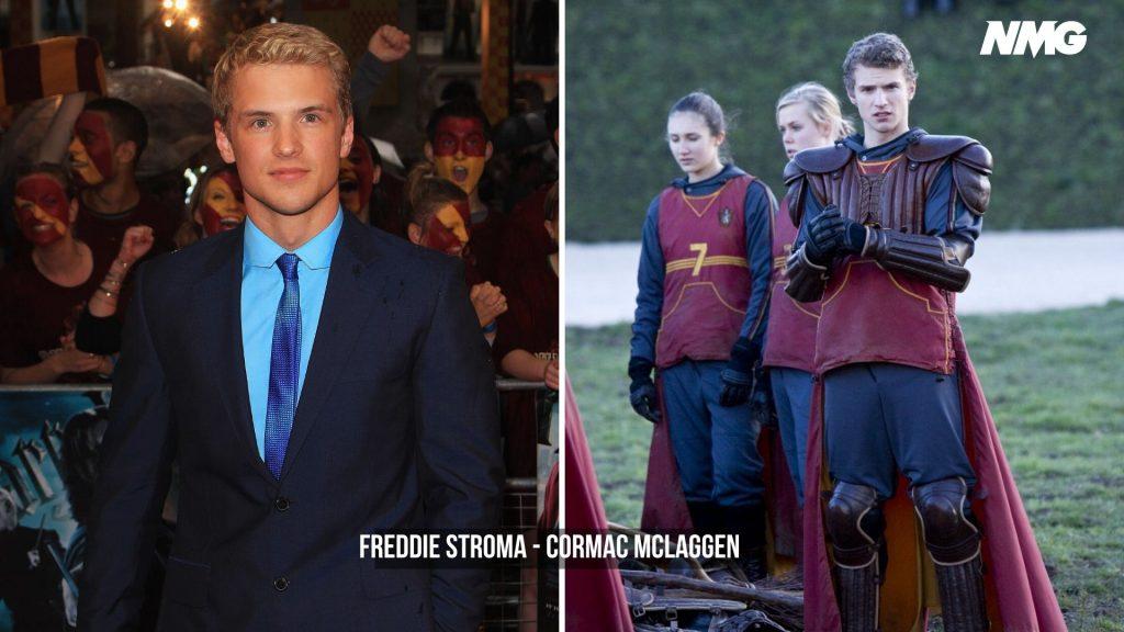 Freddie Stroma in Harry Potter - Neomag.