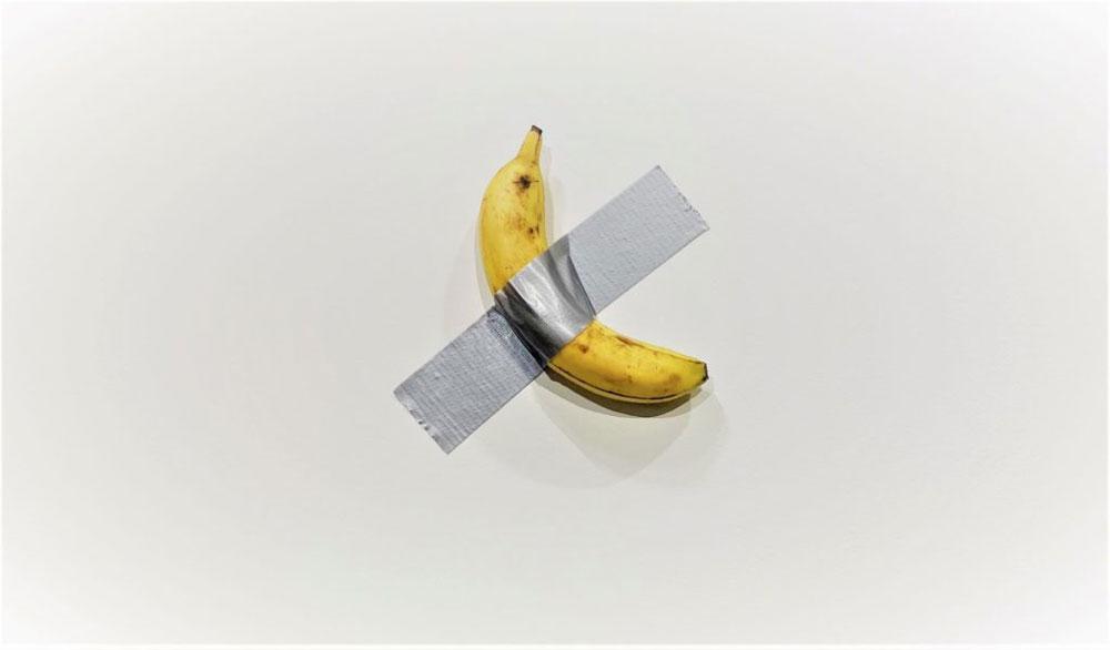 Banana di Cattelan - Neomag.
