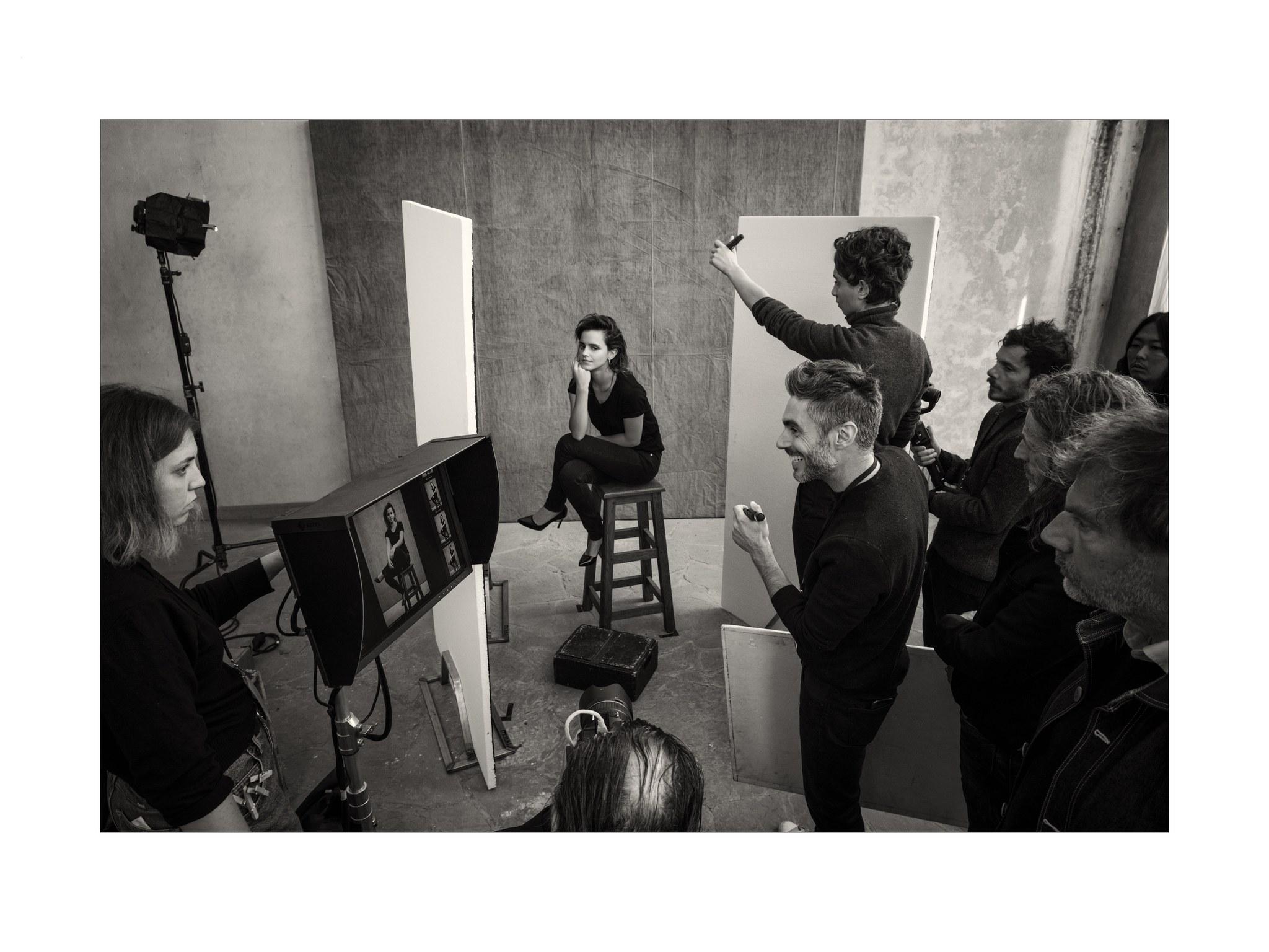 Emma Watson con Paolo Roversi - Neomag.