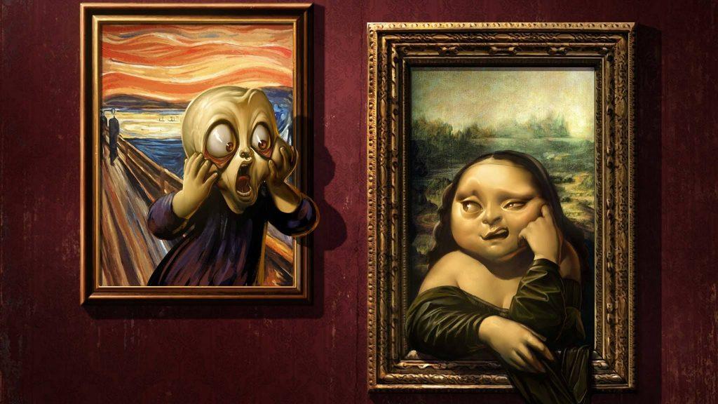 Urlo di Munch e la Gioconda - Neomag.