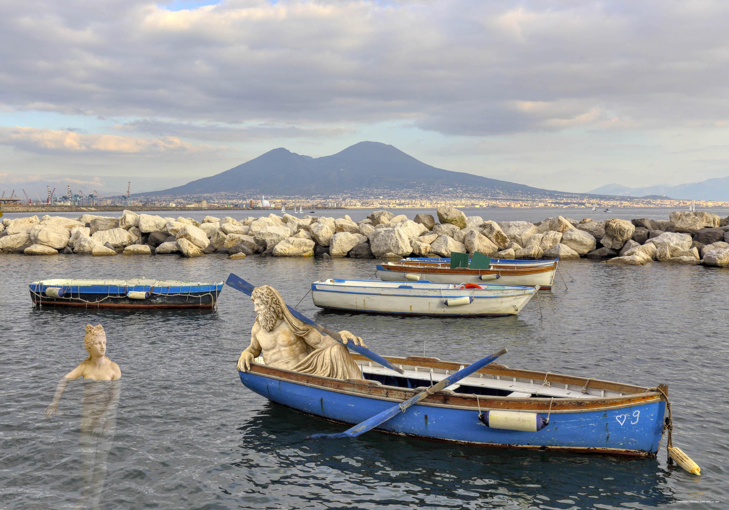 Statue nel Golfo di Napoli - Neomag.