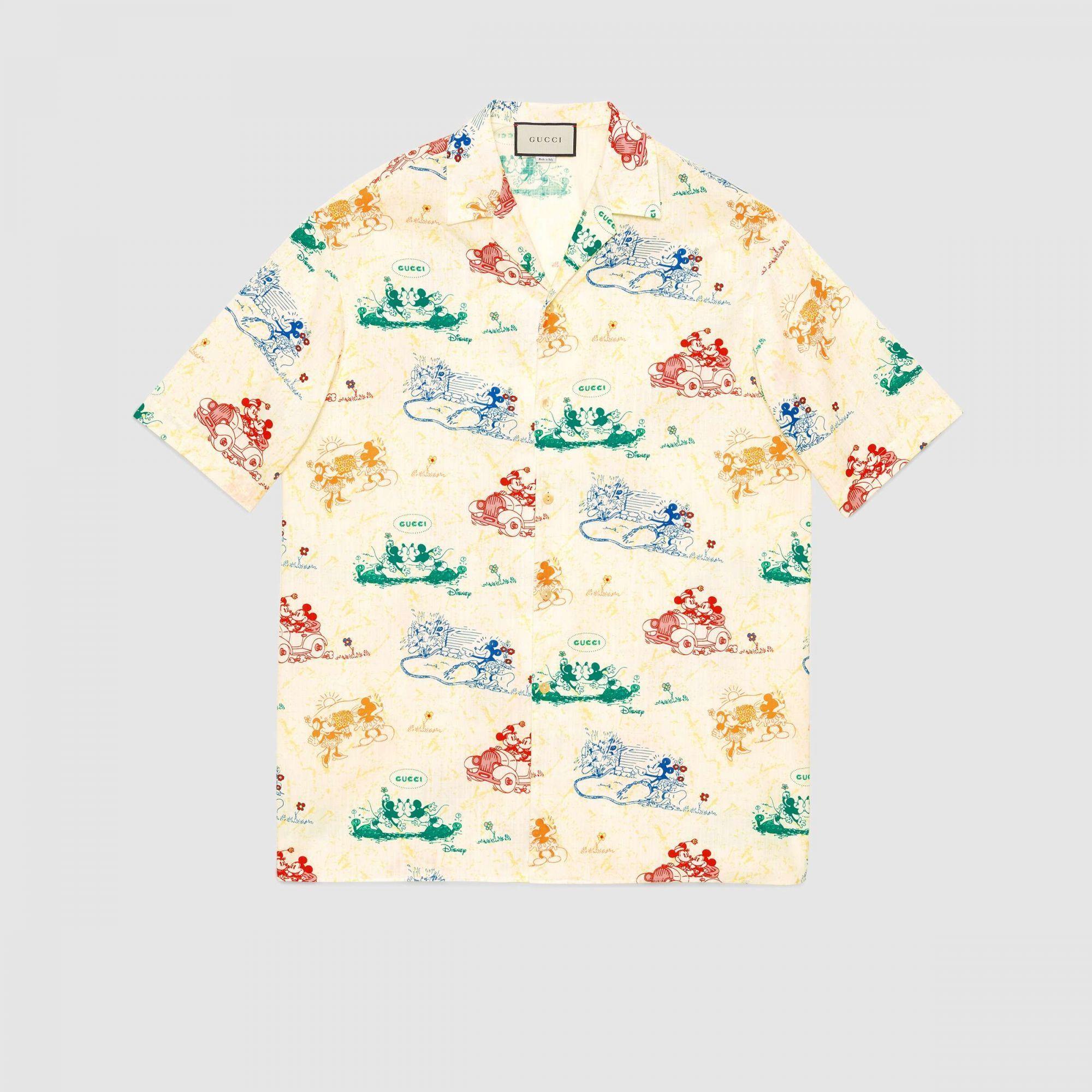Camicia Gucci Disney - Neomag.