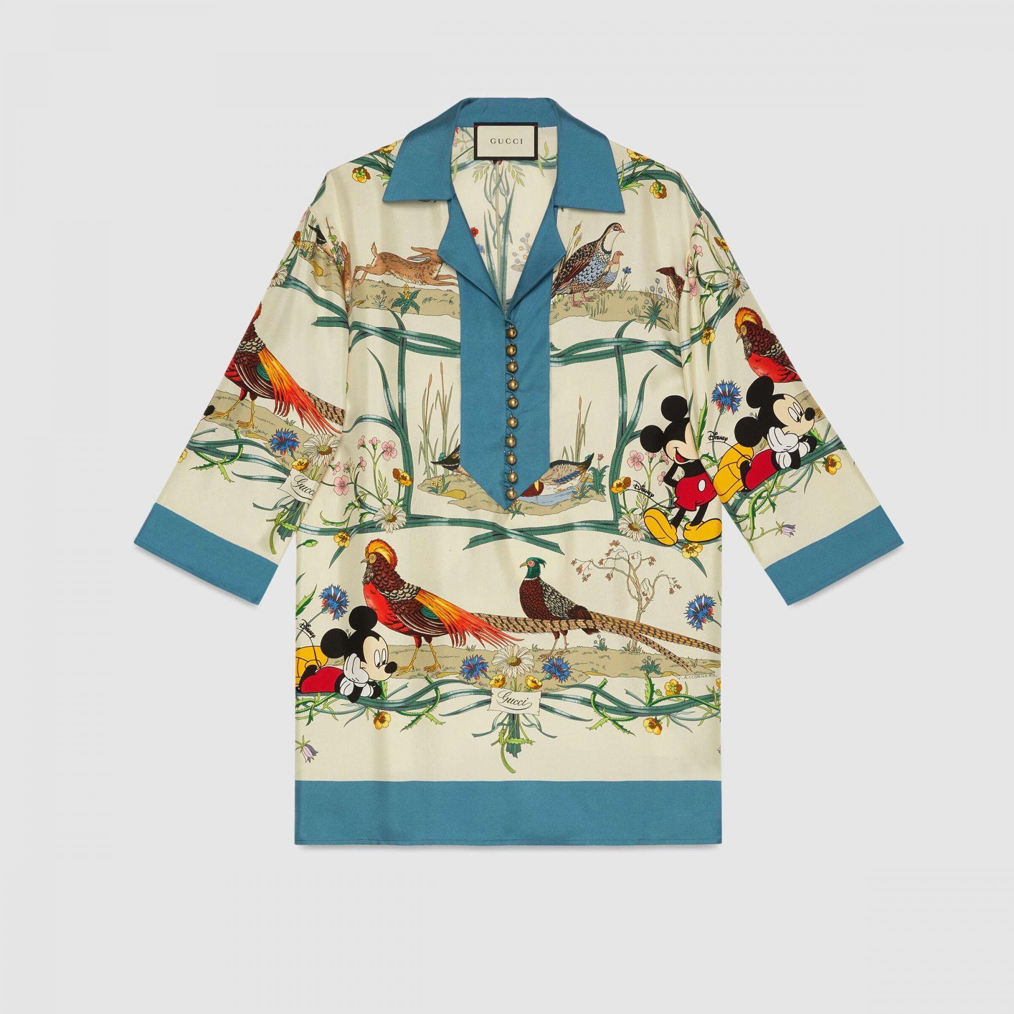 Camicia Gucci x Disney - Neomag.