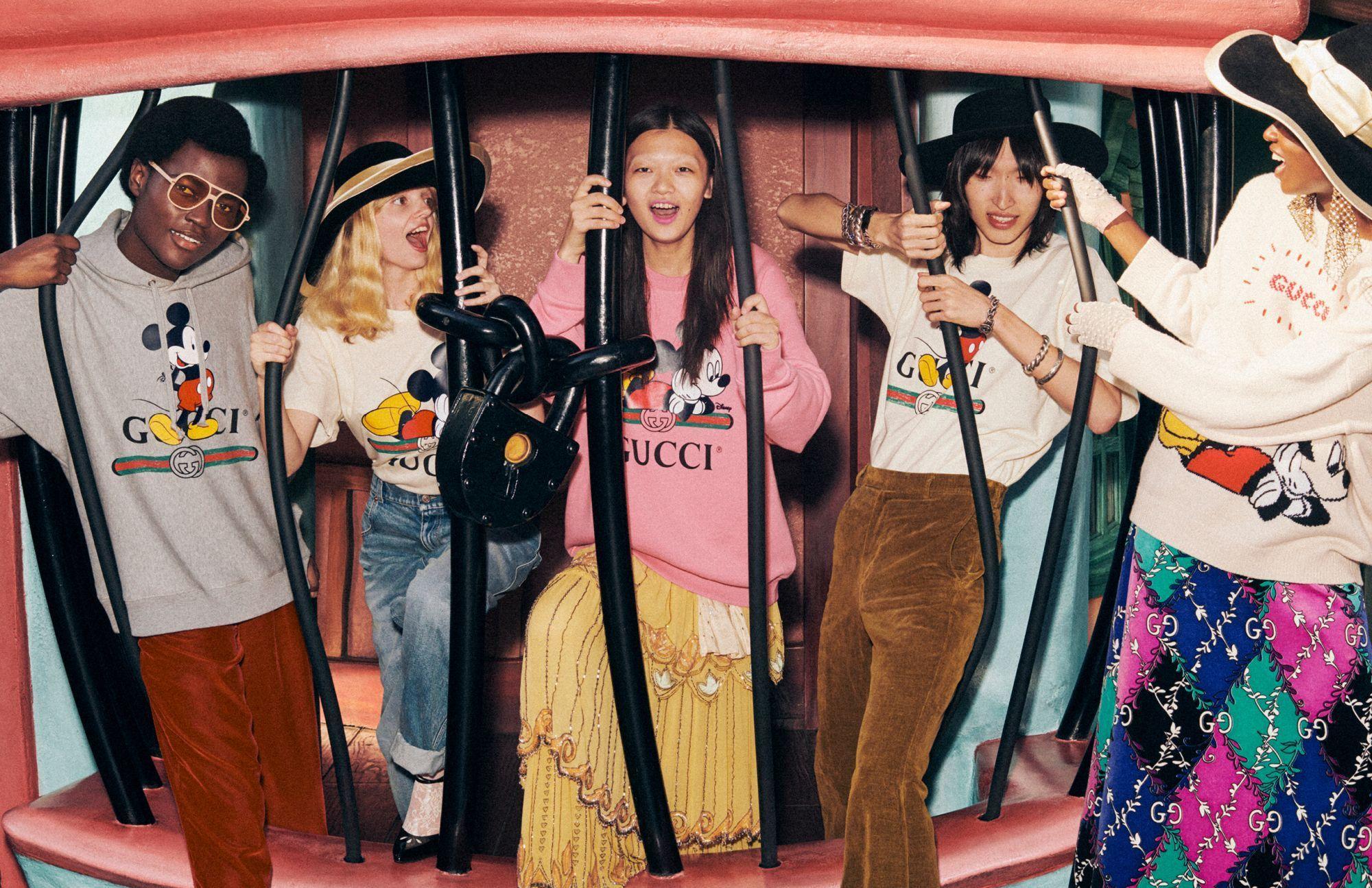 Collezione di Gucci per Disney - Neomag.