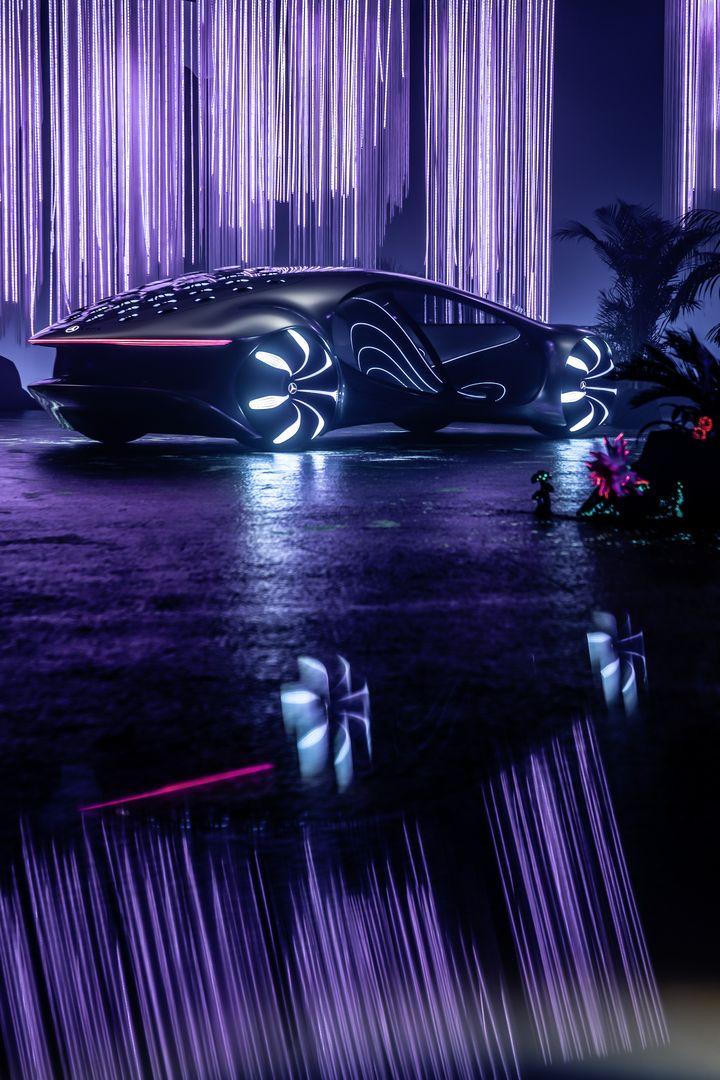 Mercedes Benz VISION AVTR - Neomag.
