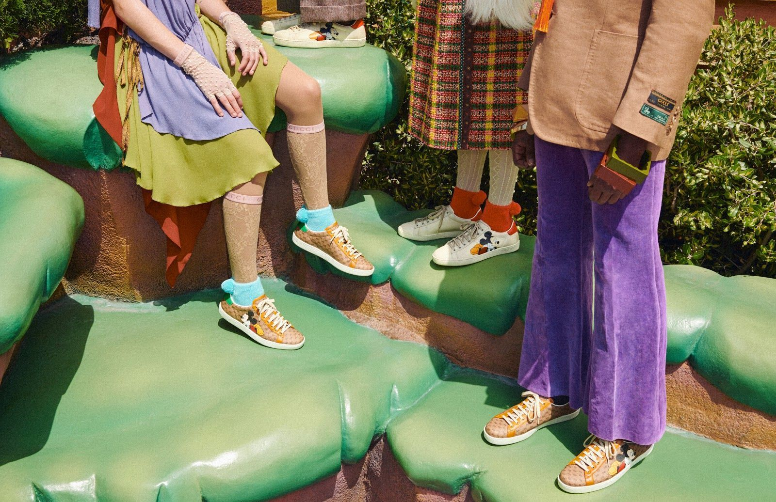 Scarpe Gucci x Disney - Neomag.