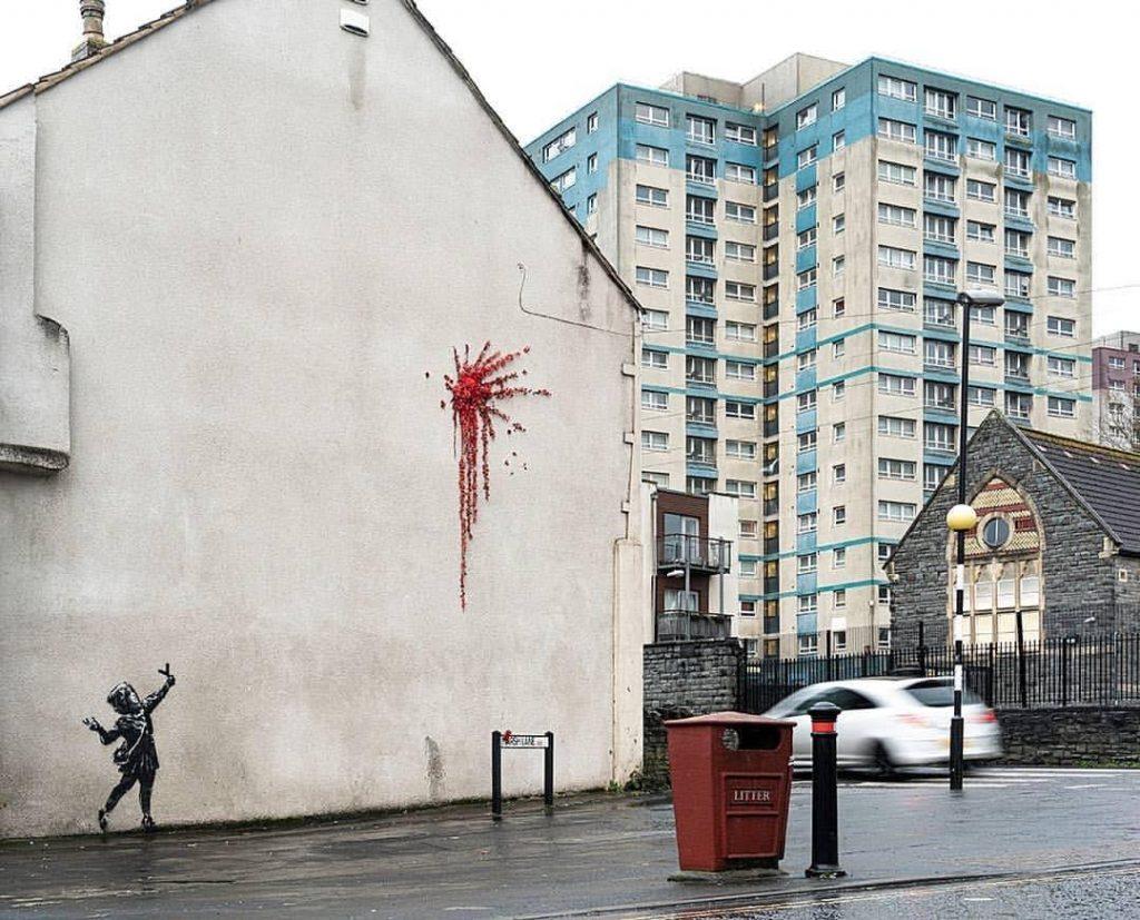 Murales di Banksy per San Valentino - Neomag.