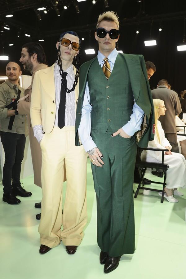 Achille Lauro alla sfilata di Gucci - Neomag.