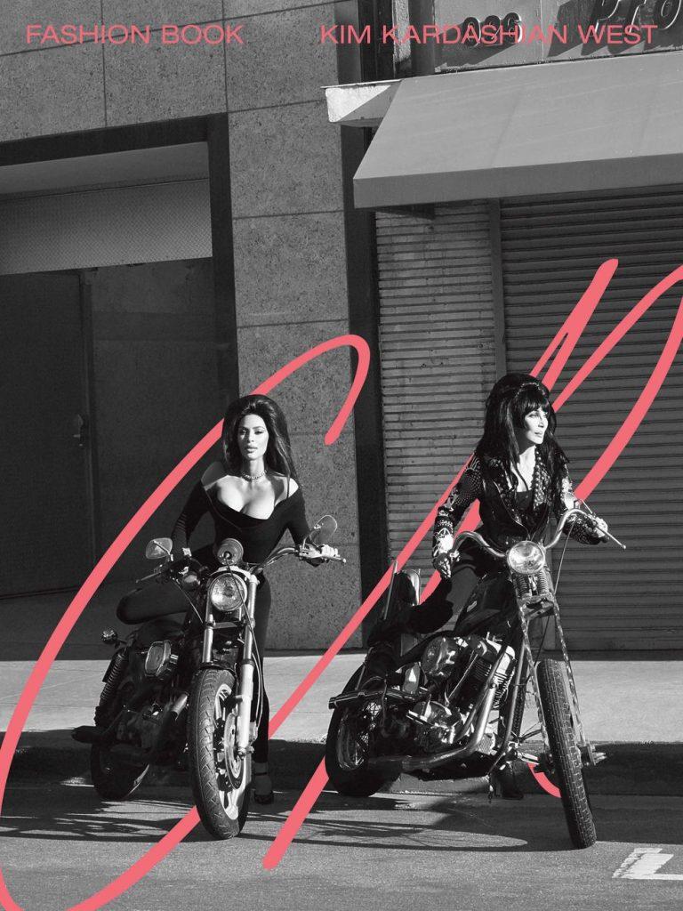 Kim e Cher x CR Fashion Book - Neomag.
