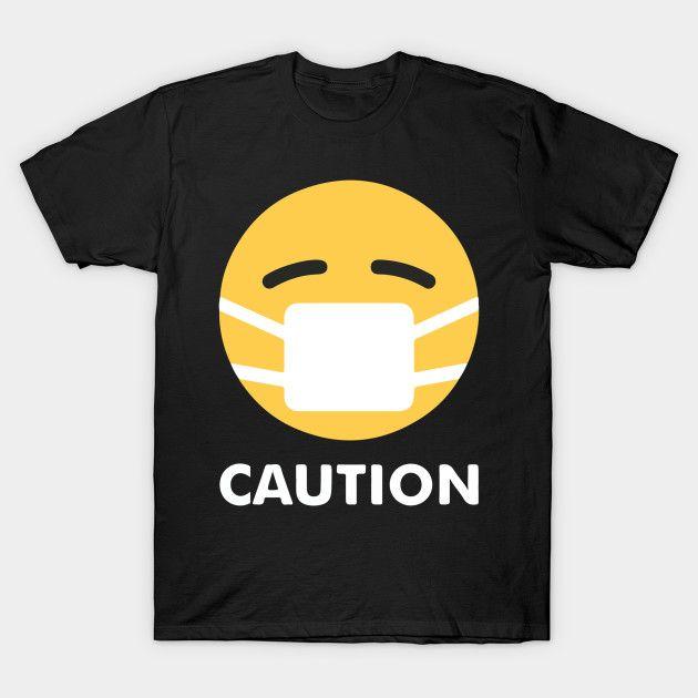 T shirt Caution - NEOMAG.