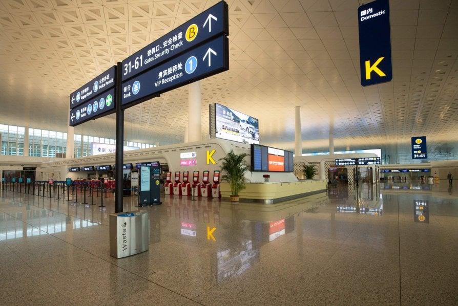 Aeroporto di Wuhan in Cina - neomag.