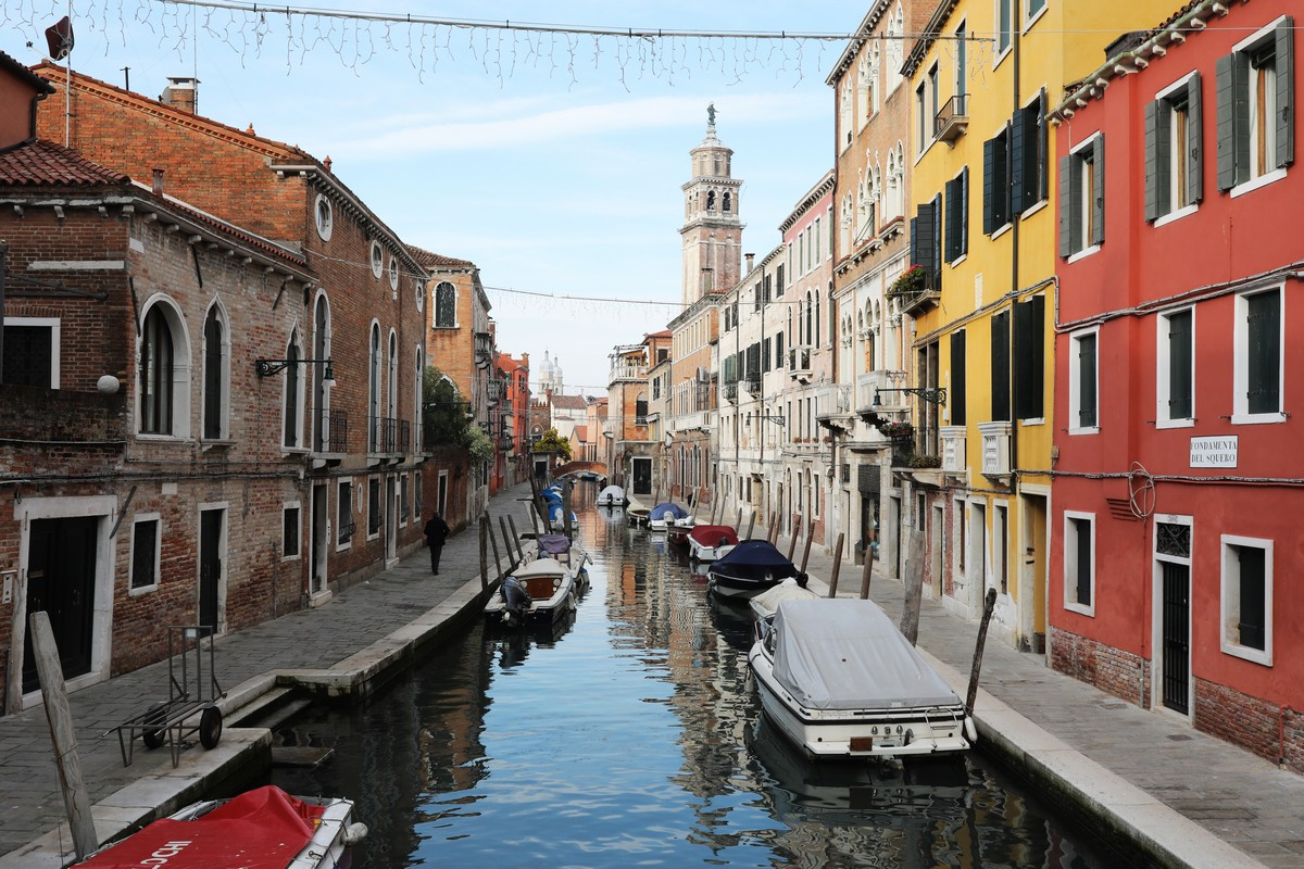 Canale a Venezia - neomag.