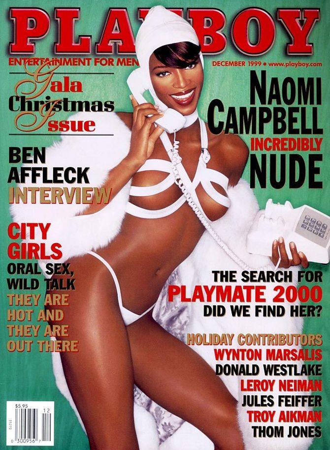 Naomi Campbell x Playboy - Neomag.
