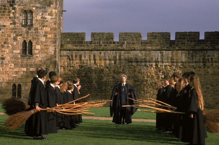 Il castello di Hogwarts - neomag.