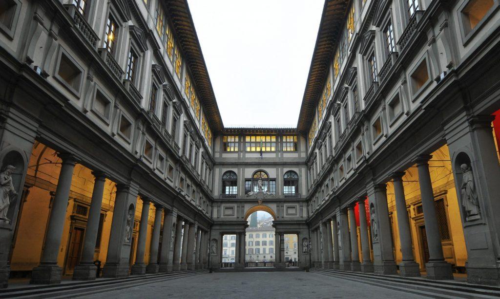 Online la Galleria degli uffizi - neomag.