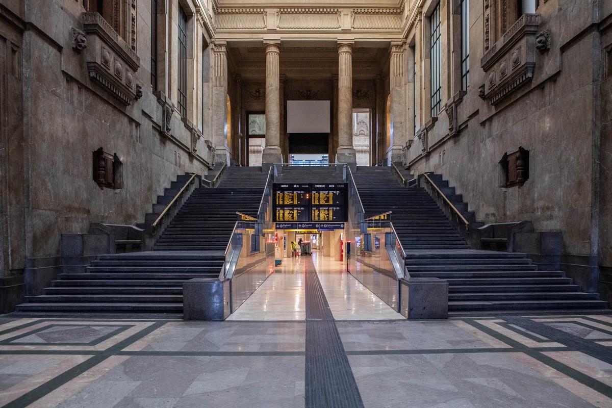 Stazione di Milano vuota - neomag.