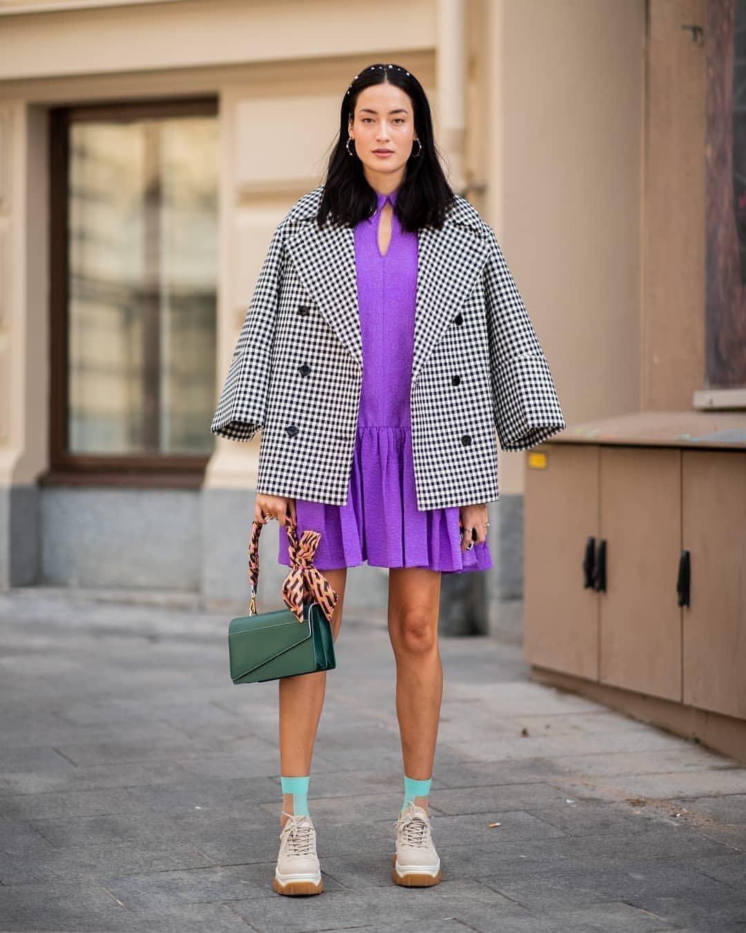 vestito lilla - neomag.
