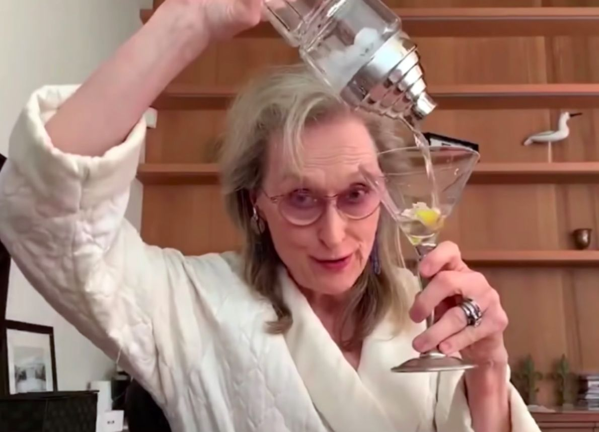 Meryl Streep in quarantena - neomag.