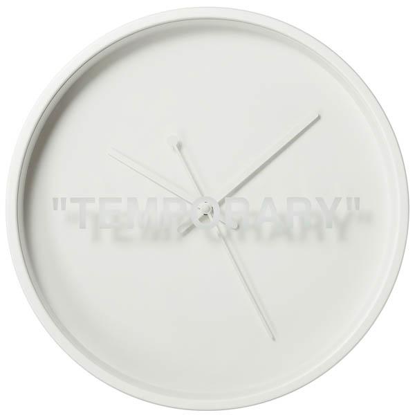 orologio a parete bianco virgil abloh - neomag.