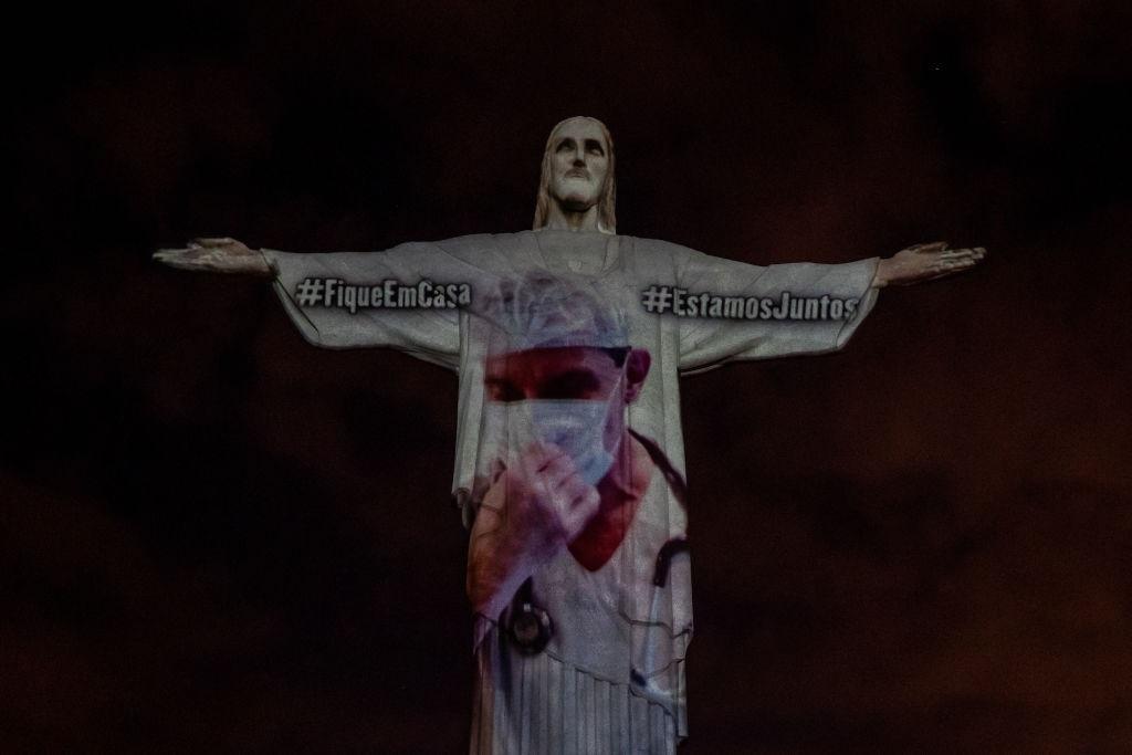Cristo di Rio per i medici - neomag.
