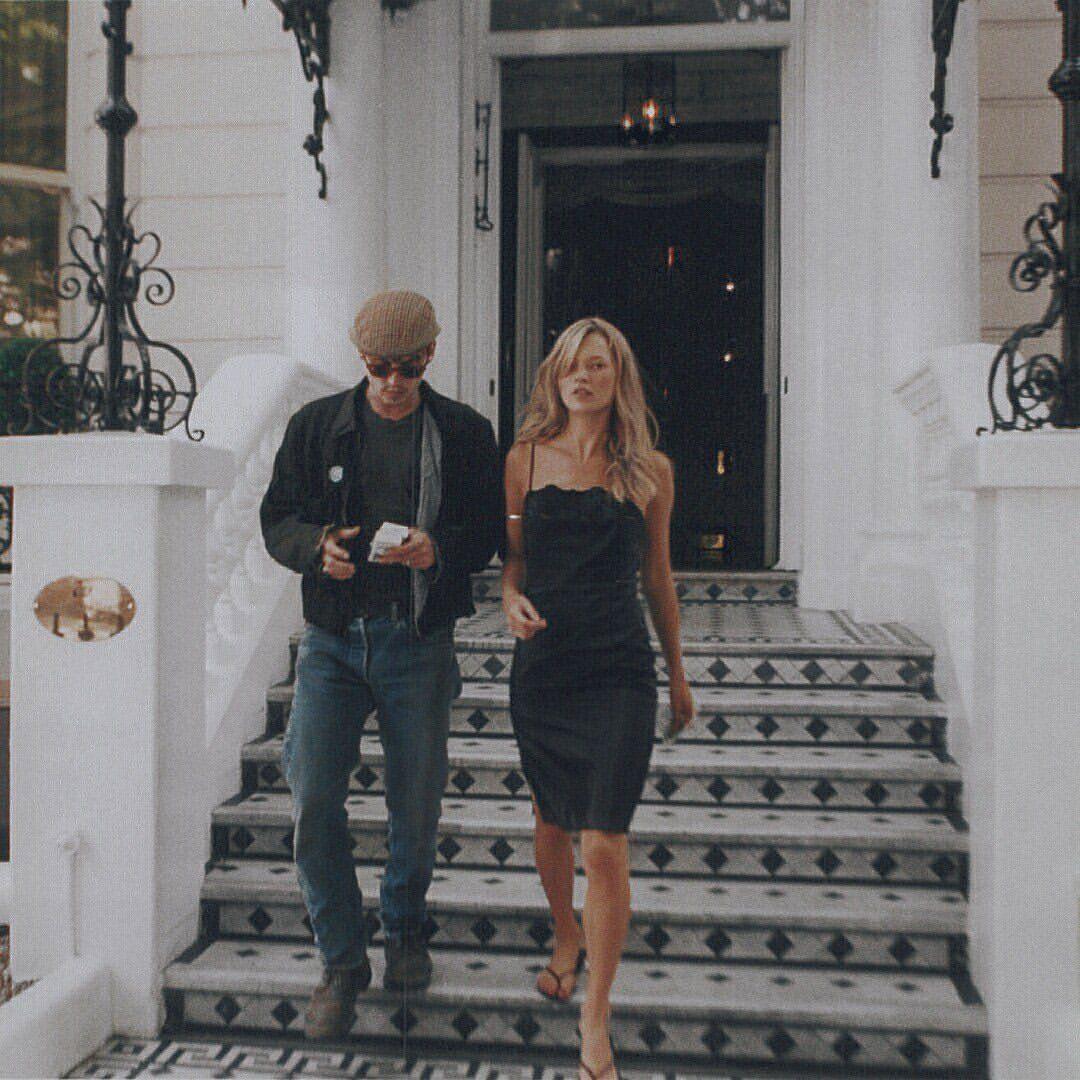 Kate Moss e Johnny Depp - neomag.