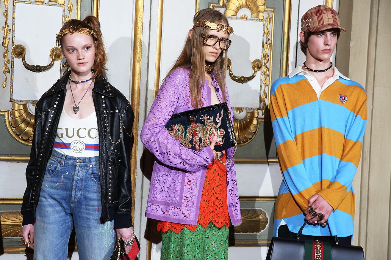 Backstage Gucci - neomag.