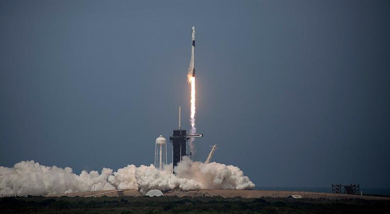Lancio dello spacex - neomag.