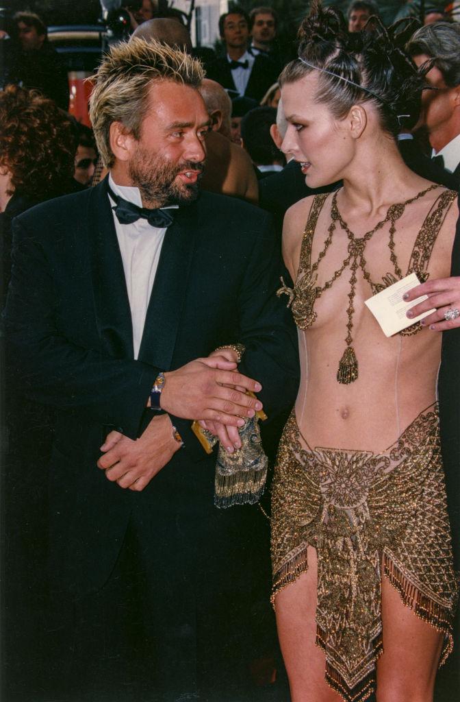 Luc Besson e Milla Jovovitch a Cannes - Neomag.