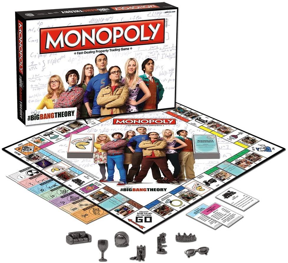 Monopoly the big bang theory - neomag.