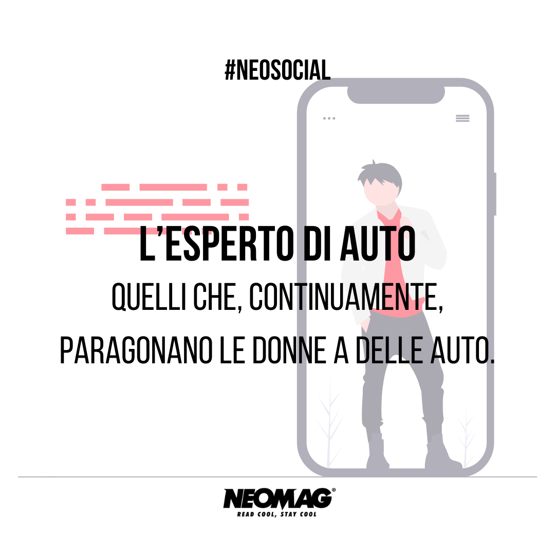 Esperto di Auto su instagram - neomag.