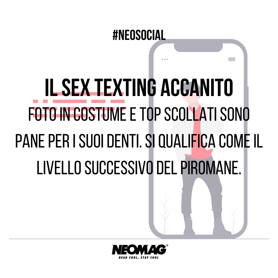 Sext texting su instagram - neomag.
