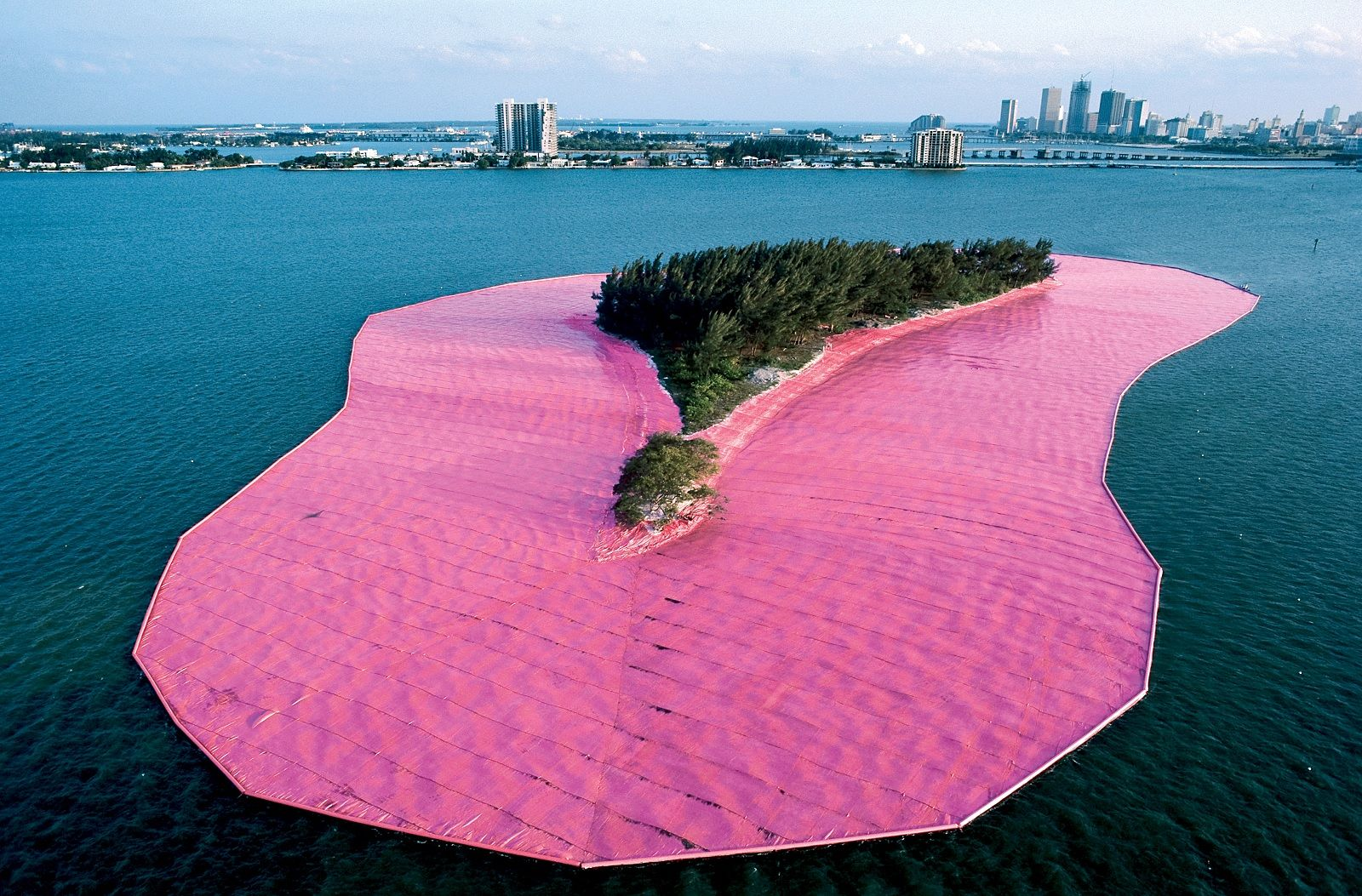 Christo isola Florida - neomag.