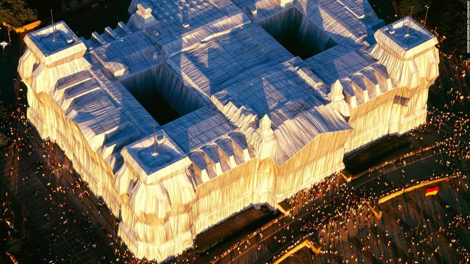 L'imballaggio del Reichstag di Berlino - neomag.