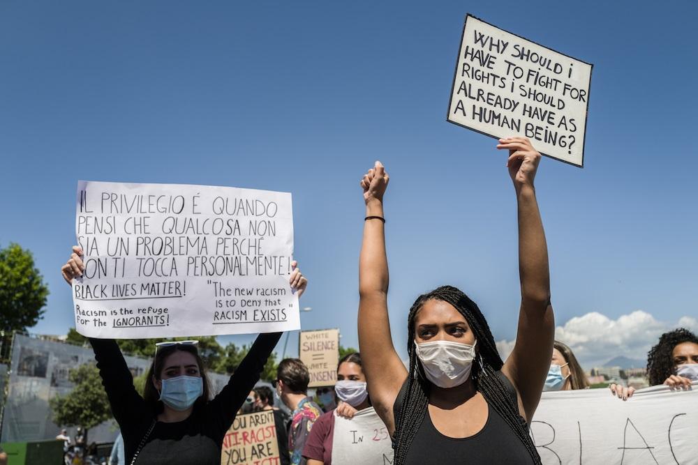 Black Lives Matter In Naples - neomag.