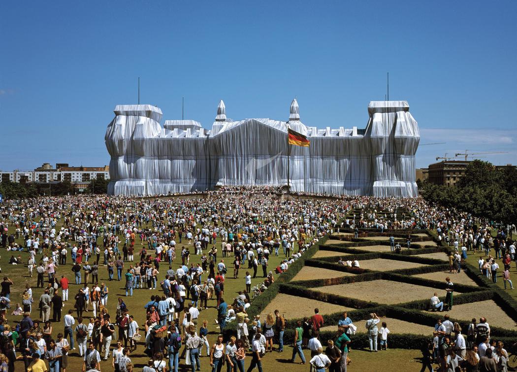 imballaggio del Reichstag di Berlino - neomag.