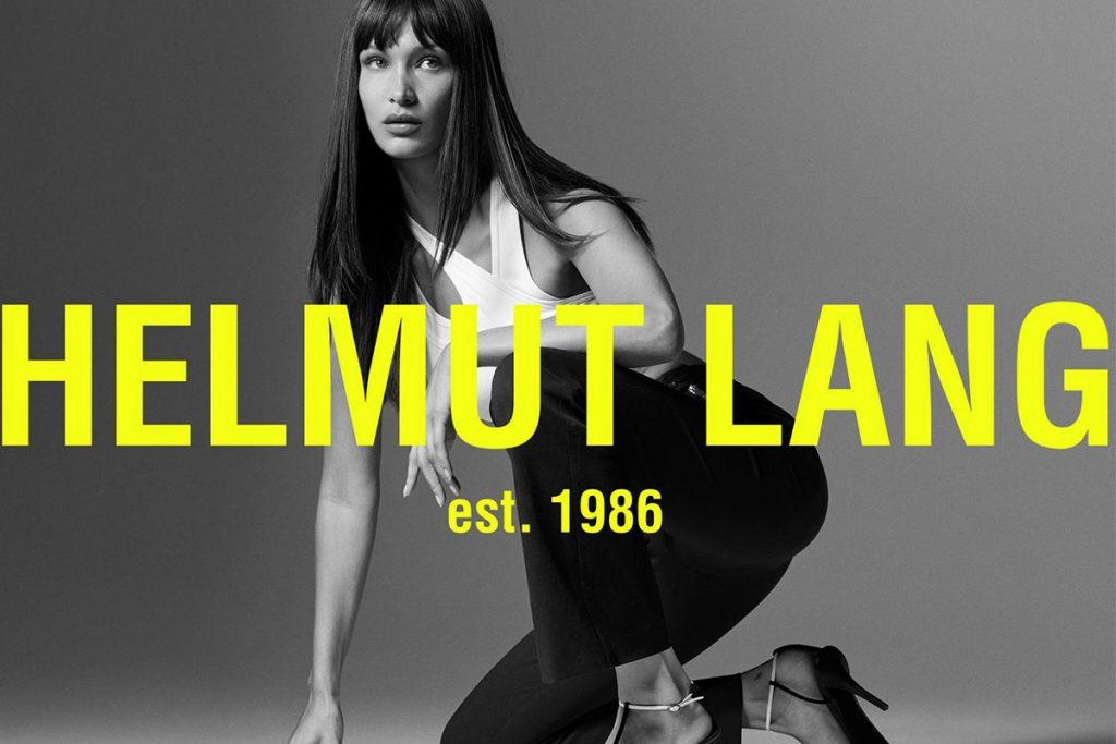 Bella Hadid per Helmut Lang - neomag.