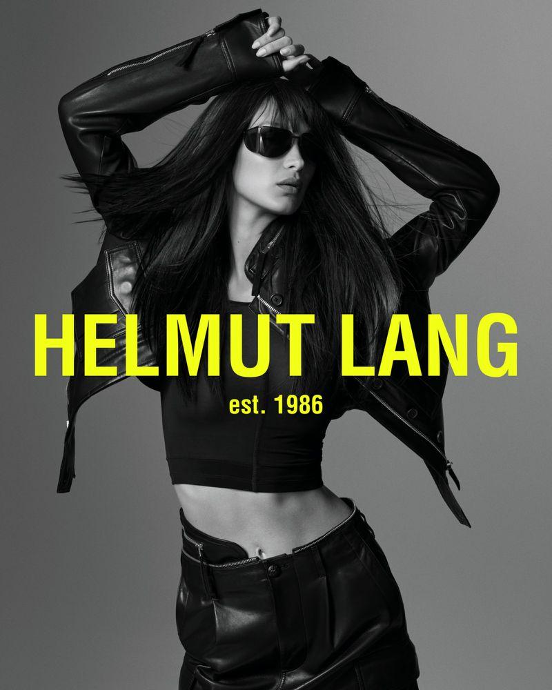 Bella Hadid x Helmut Lang - Neomag.