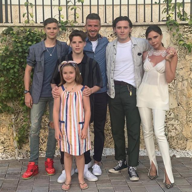 Famiglia Beckham - neomag.