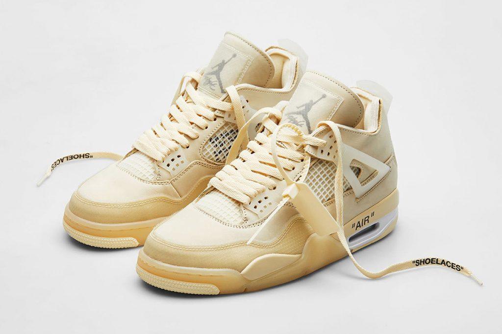 Nike Air Jordan 4 x Off-White - neomag.
