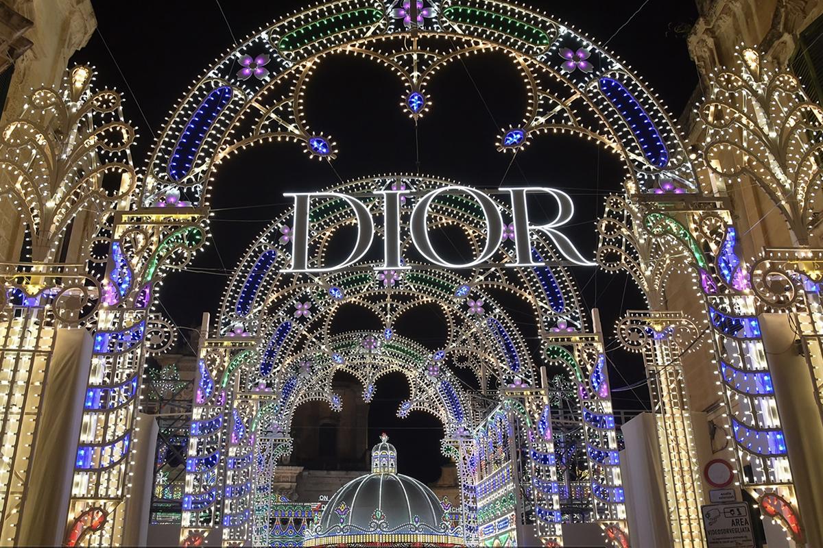 Sfilata di Dior a Lecce - neomag.