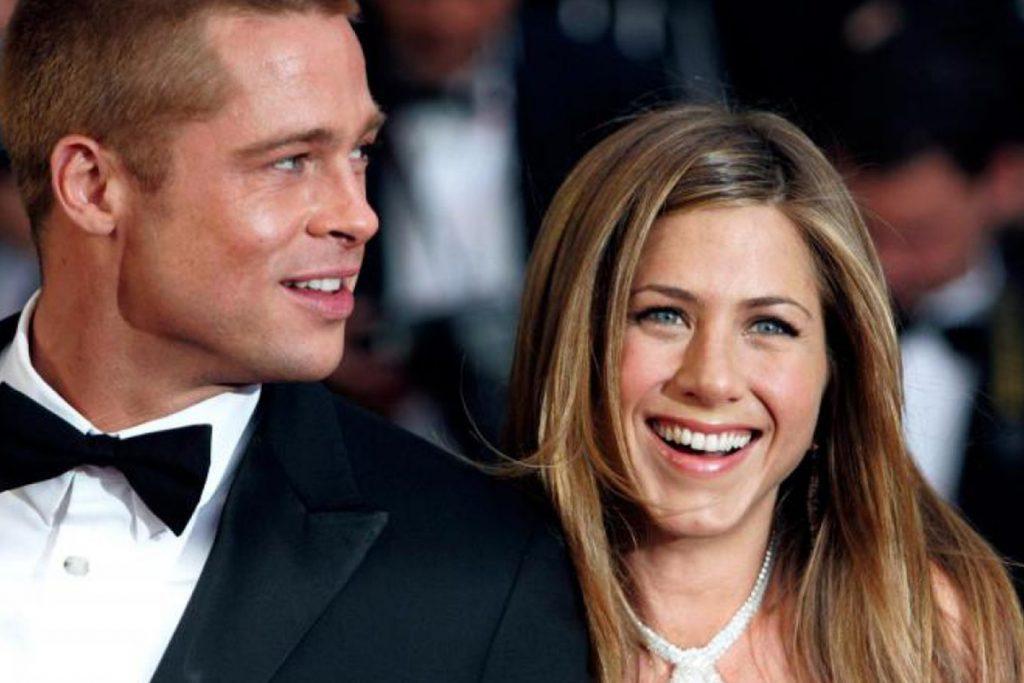 Brad Pitt e Jennifer Aniston Insieme - neomag.