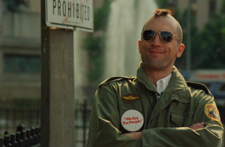 De Niro in Taxi Driver - neomag.