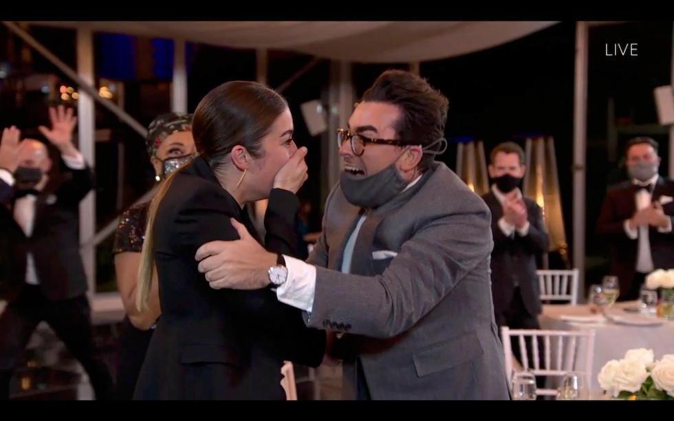 Daniel Levy e Annie Murphy emmy awards 2020 - neomag.