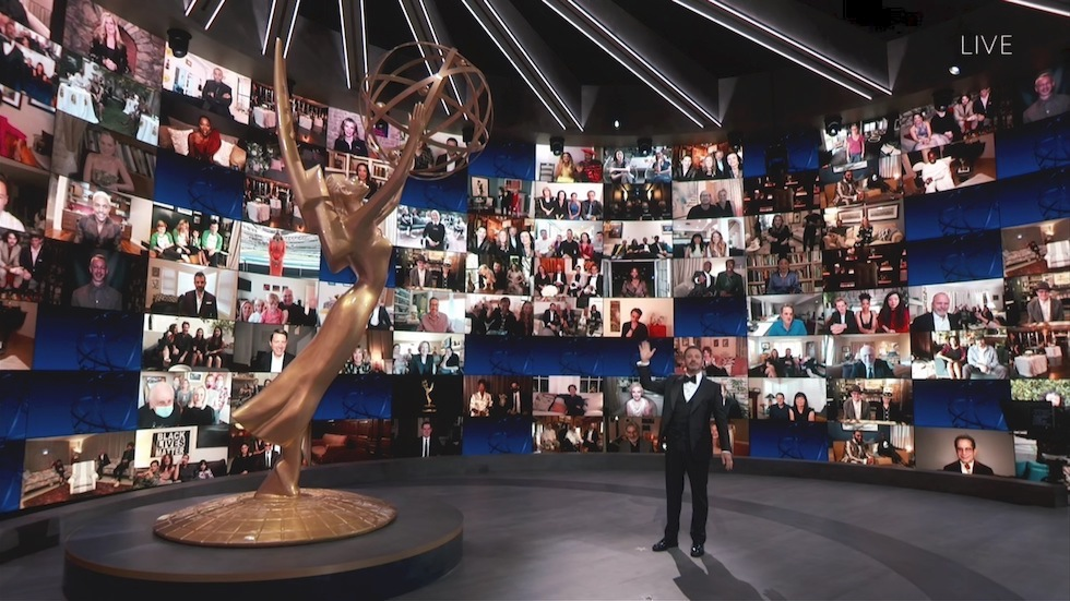 Jimmy Kimmel emmy awards 2020 - neomag.