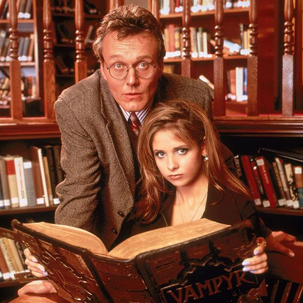 Rupert Giles in Buffy L'Ammazzavampiri - neomag.