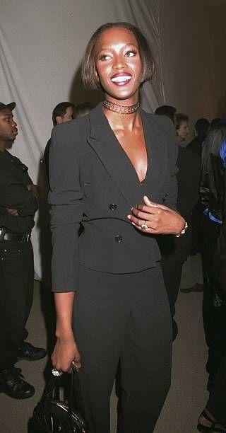 Naomi Campbell in Armani - neomag.