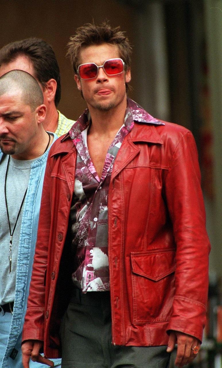 Brad Pitt in Fight Club - Neomag.