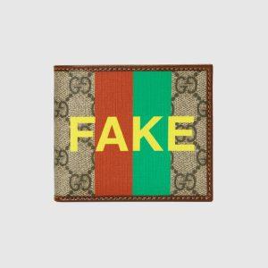 Portafoglio Not fake di Gucci - neomag.